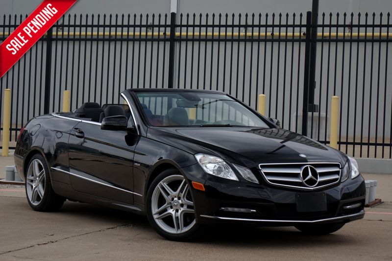 2012 Mercedes-Benz E 350 *Nav*BU Cam* Convertible* EZ Finance**   Plano, TX   Carrick's Autos in Plano TX