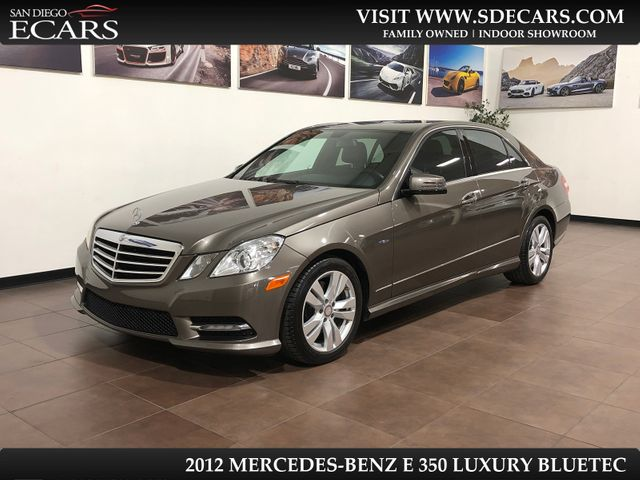 2012 Mercedes-Benz E 350 Luxury BlueTEC in San Diego, CA 92126