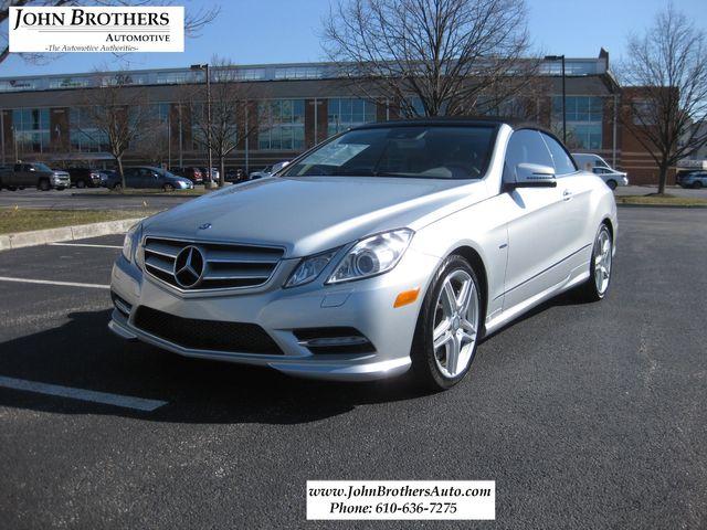2012 Sold Mercedes-Benz E 550 Convertible Conshohocken, Pennsylvania