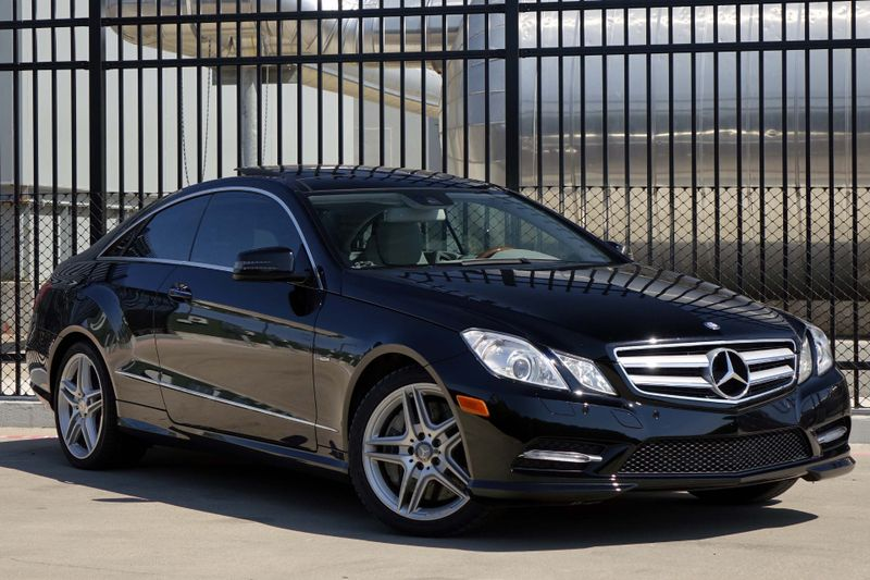 2012 Mercedes Benz E 550 Coupe*Navi**Back Up Camera**Driver Assist**Pano* |  Plano, TX | Carricku0027s Autos