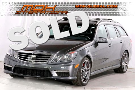 2012 Mercedes-Benz E 63 AMG - Performance pkg - DVD - Limited Slip Diff in Los Angeles