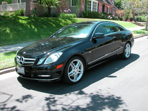 2012 Mercedes-Benz E350 Coupe Transferable Factory Warranty in , California