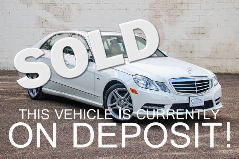 2012 Mercedes-Benz E350 Sport 4Matic AWD w/Navigation, Backup Cam, Moonroof, Heated Seats & 18