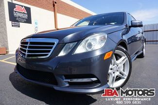 2012 Mercedes-Benz E550 AMG Sport Package 4Matic AWD Sedan in Mesa, AZ 85202
