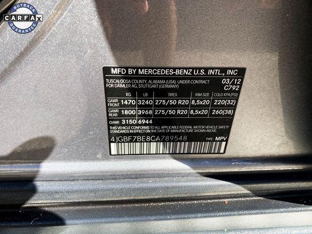 2012 Mercedes-Benz GL 450 GL 450 Madison, NC 53