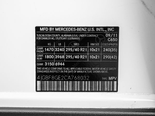 2012 Mercedes-Benz GL 550 AMG Burbank, CA 33