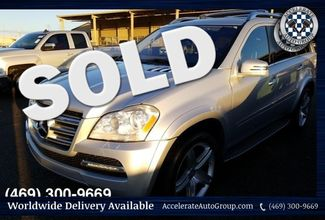 2012 Mercedes-Benz GL 550 VERY NICE, CLEAN CARFAX! in Rowlett