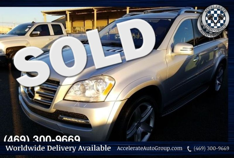 2012 Mercedes-Benz GL 550 VERY NICE, CLEAN CARFAX! in Rowlett Texas