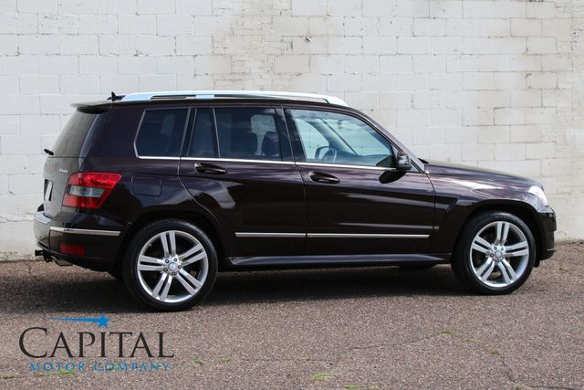 "2012 Mercedes-Benz GLK 350 4Matic AWD Sport SUV w/Navigation, Panoramic Roof, 20"" Wheels & Tow Package in Eau Claire, Wisconsin 54703"