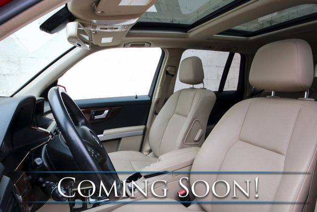 """2012 Mercedes-Benz GLK350 4Matic AWD Luxury w/Nav, Backup Cam, Panoramic Roof, Bluetooth Audio & 19"""" Rims in Eau Claire, Wisconsin 54703"""