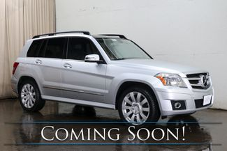 2012 Mercedes-Benz GLK350 4MATIC AWD Luxury Crossover w/Nav, Backup Cam, Panoramic Roof, Heated Seats & B.T. Audio in Eau Claire, Wisconsin 54703