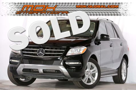 2012 Mercedes-Benz ML 350 - 4Matic - P2 pkg - Keyless GO - Navigation in Los Angeles