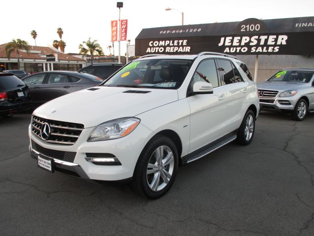 2012 Mercedes-Benz ML 350 4Matic