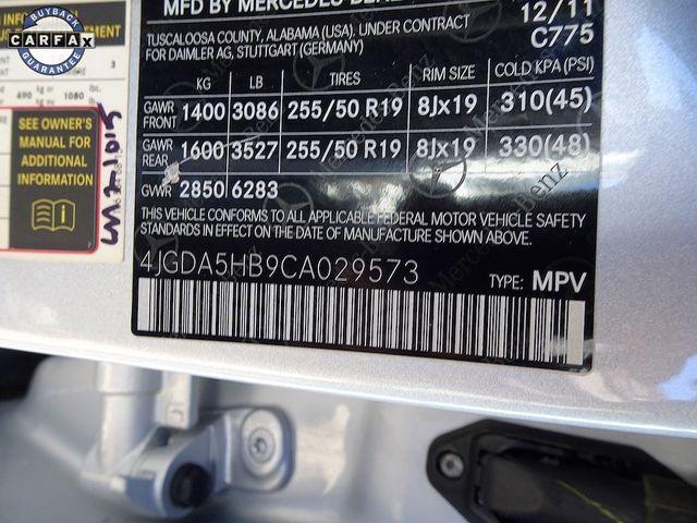 2012 Mercedes-Benz ML 350 ML 350 Madison, NC 50