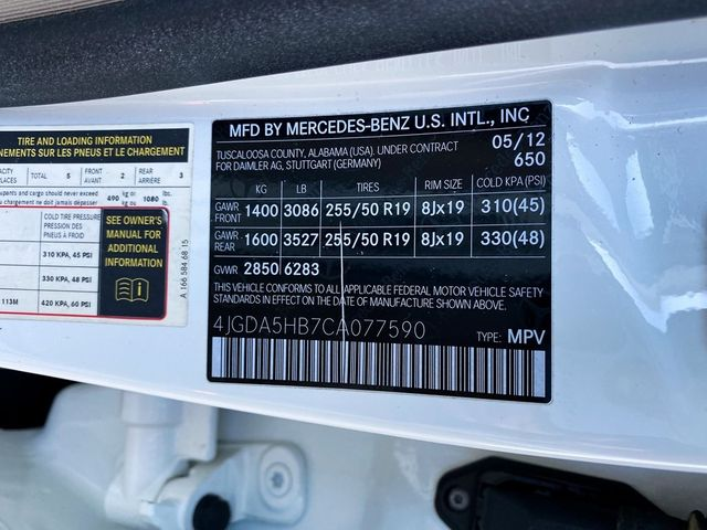 2012 Mercedes-Benz ML 350 ML 350 Madison, NC 42
