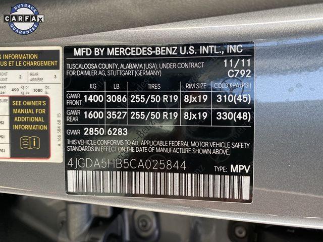 2012 Mercedes-Benz ML 350 ML 350 Madison, NC 46