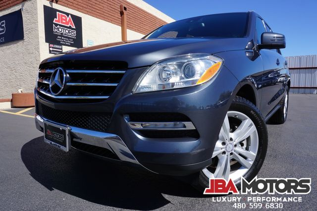 2012 Mercedes-Benz ML350 SUV ML Class 350 4Matic AWD