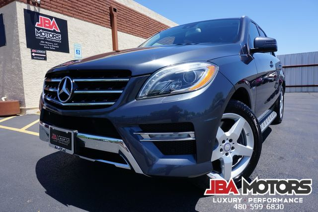 2012 Mercedes-Benz ML550 ML Class 550 AMG Sport Package 4Matic AWD SUV in Mesa, AZ 85202