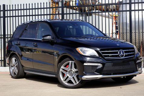 2012 Mercedes-Benz ML 63 AMG* Performance* Navi* BU Cam* 550HP* AWD*    Plano, TX   Carrick's Autos in Plano, TX