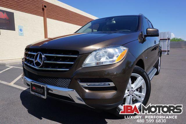 2012 Mercedes-Benz ML350 ML Class 350 4Matic AWD SUV ~ 1 Owner Clean CarFax | MESA, AZ | JBA MOTORS in Mesa AZ