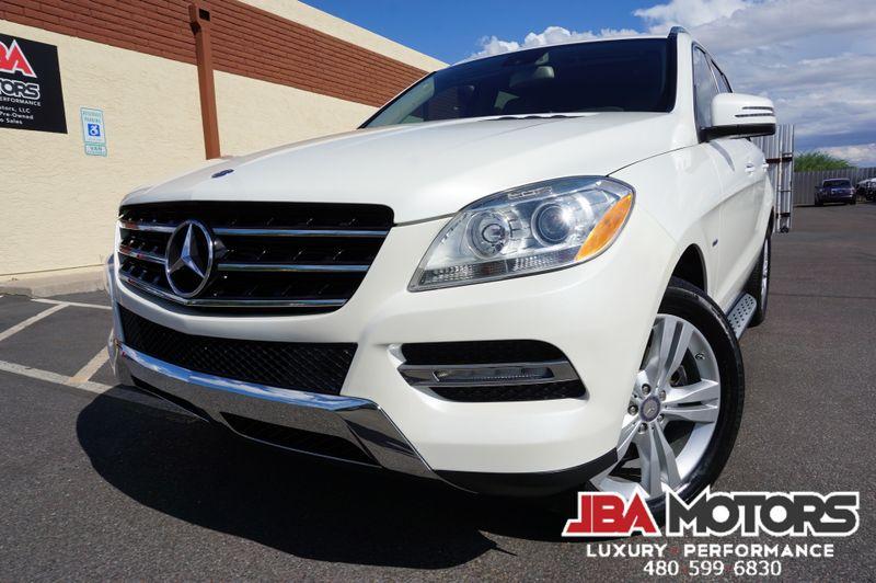 2012 Mercedes-Benz ML350 ML Class 350 4Matic AWD SUV ~Rear DVD ~Blind Spot   MESA, AZ   JBA MOTORS in MESA AZ
