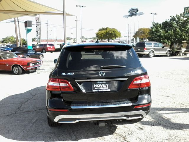 2012 Mercedes-Benz ML350 4Matic (AWD) Boerne, Texas 7