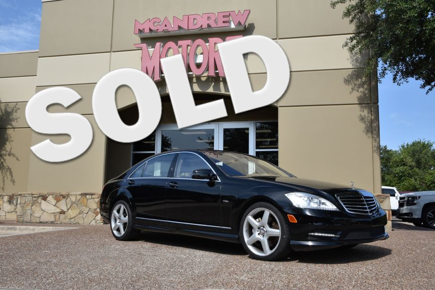 U003c 2012 Mercedes Benz S 550 Low Miles In Arlington, TX Texas, ...
