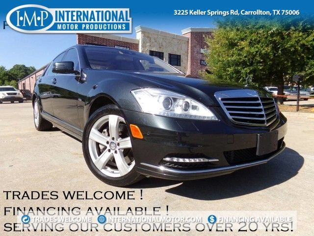 2012 Mercedes-Benz S 550 4MATIC | Carrollton TX | International
