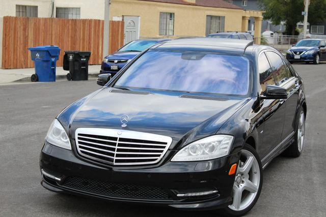 2012 Mercedes-Benz S 550 NAVIGATION SERIVCE RECORDS XENON in Van Nuys, CA 91406