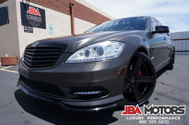 2012 Mercedes-Benz S550 BRABUS PACKAGE S Class 550