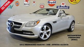 2012 Mercedes-Benz SLK 350 Convertible PWR HARD TOP,NAV,HTD LTH,H/K SYS,39K! in Carrollton TX, 75006