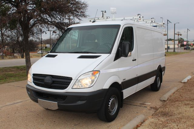 2012 Mercedes-Benz Sprinter 2500 Cargo Contractor Service Van  W/ Ladder Racks - Diesel Irving, Texas 91