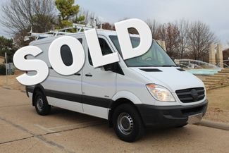 2012 Mercedes-Benz Sprinter 2500 Cargo Contractor Service Van  W/ Ladder Racks - Diesel Irving, Texas