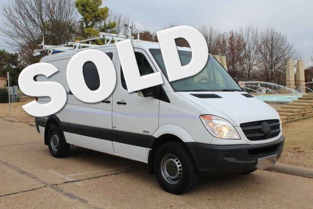 2012 Mercedes-Benz Sprinter 2500 Cargo Contractor Service Van  W/ Ladder Racks - Diesel Irving, Texas 0