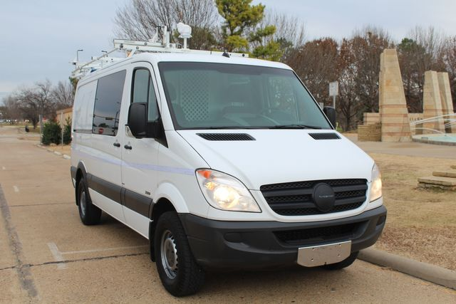 2012 Mercedes-Benz Sprinter 2500 Cargo Contractor Service Van  W/ Ladder Racks - Diesel Irving, Texas 1
