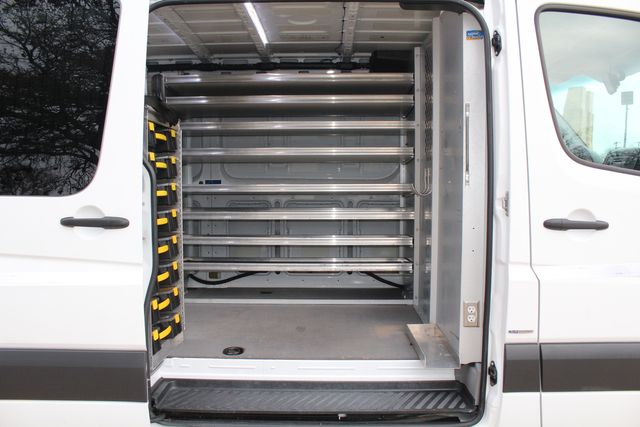 2012 Mercedes-Benz Sprinter 2500 Cargo Contractor Service Van  W/ Ladder Racks - Diesel Irving, Texas 9