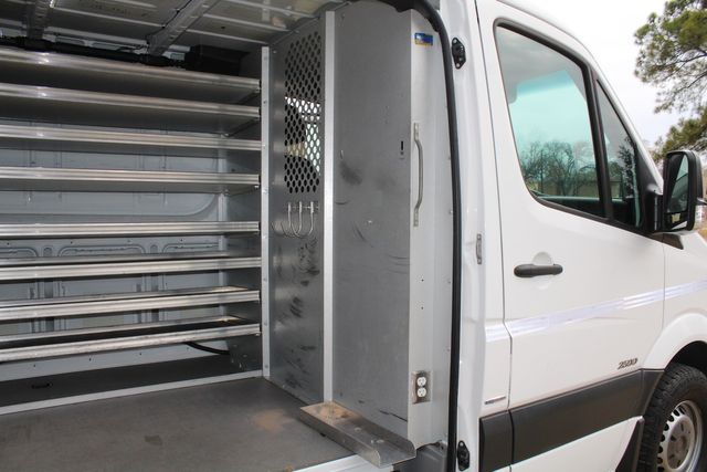 2012 Mercedes-Benz Sprinter 2500 Cargo Contractor Service Van  W/ Ladder Racks - Diesel Irving, Texas 10