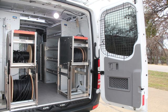 2012 Mercedes-Benz Sprinter 2500 Cargo Contractor Service Van  W/ Ladder Racks - Diesel Irving, Texas 23