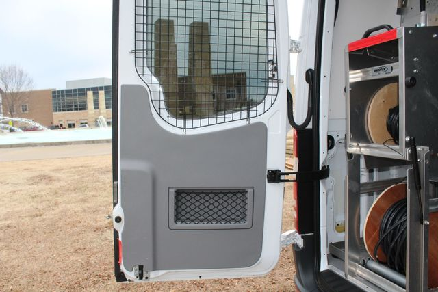 2012 Mercedes-Benz Sprinter 2500 Cargo Contractor Service Van  W/ Up-Fit Package & Ladder Racks Irving, Texas 25