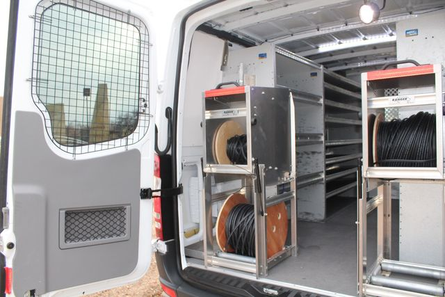 2012 Mercedes-Benz Sprinter 2500 Cargo Contractor Service Van  W/ Up-Fit Package & Ladder Racks Irving, Texas 26