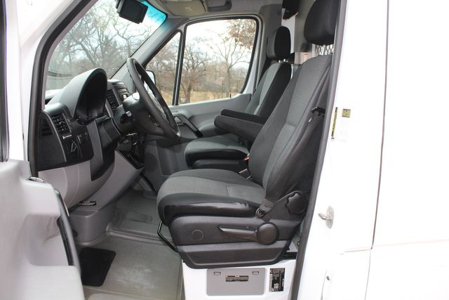2012 Mercedes-Benz Sprinter 2500 Cargo Contractor Service Van  W/ Ladder Racks - Diesel Irving, Texas 40
