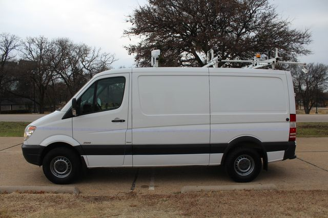 2012 Mercedes-Benz Sprinter 2500 Cargo Contractor Service Van  W/ Ladder Racks - Diesel Irving, Texas 4
