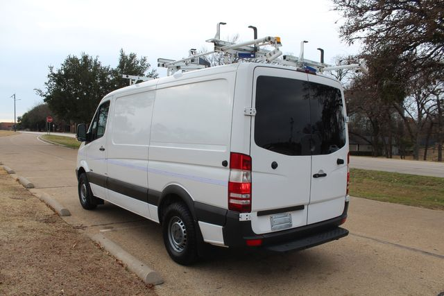 2012 Mercedes-Benz Sprinter 2500 Cargo Contractor Service Van  W/ Up-Fit Package & Ladder Racks Irving, Texas 5