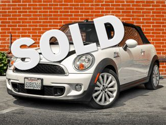 2012 Mini Convertible S Burbank, CA