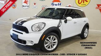 2012 Mini Cooper Countryman S AUTOMATIC,LEATHER,H/K SYS,17IN WHLS,23K! in Carrollton TX, 75006