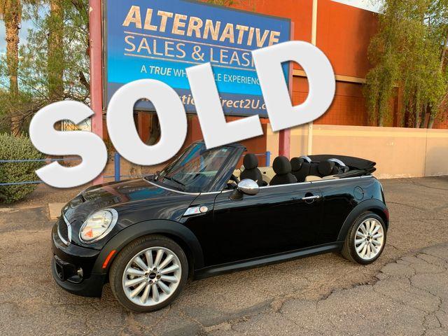 2012 Mini COOPER S Convertible 3 MONTH/3,000 MILE NATIONAL POWERTRAIN WARRANTY Mesa, Arizona