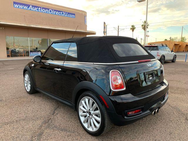 2012 Mini COOPER S Convertible 3 MONTH/3,000 MILE NATIONAL POWERTRAIN WARRANTY Mesa, Arizona 10