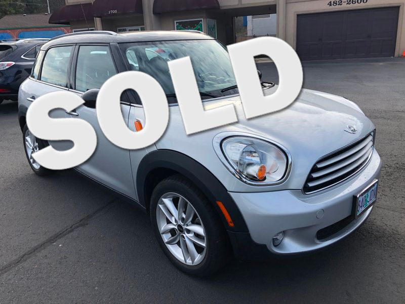 2012 Mini Countryman  | Ashland, OR | Ashland Motor Company in Ashland OR