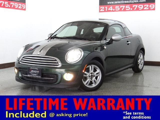 2012 Mini Coupe NAV, LEATHER SEATS, HEATED FRONT SEATS