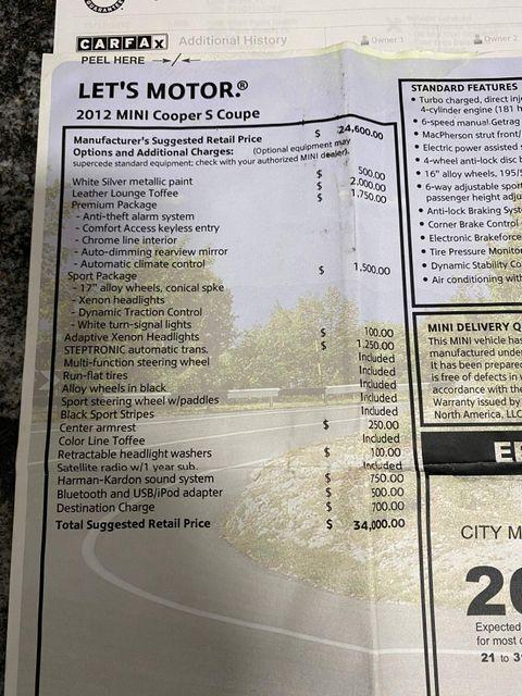 2012 Mini Coupe S Longwood, FL 58